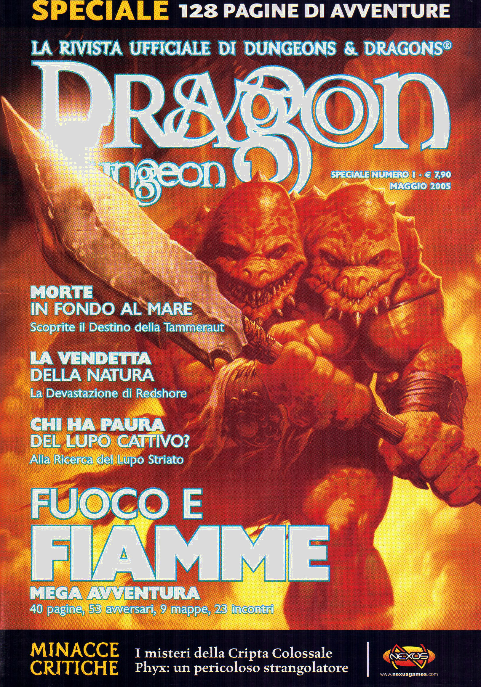 Dragon & Dungeon, speciale n°1