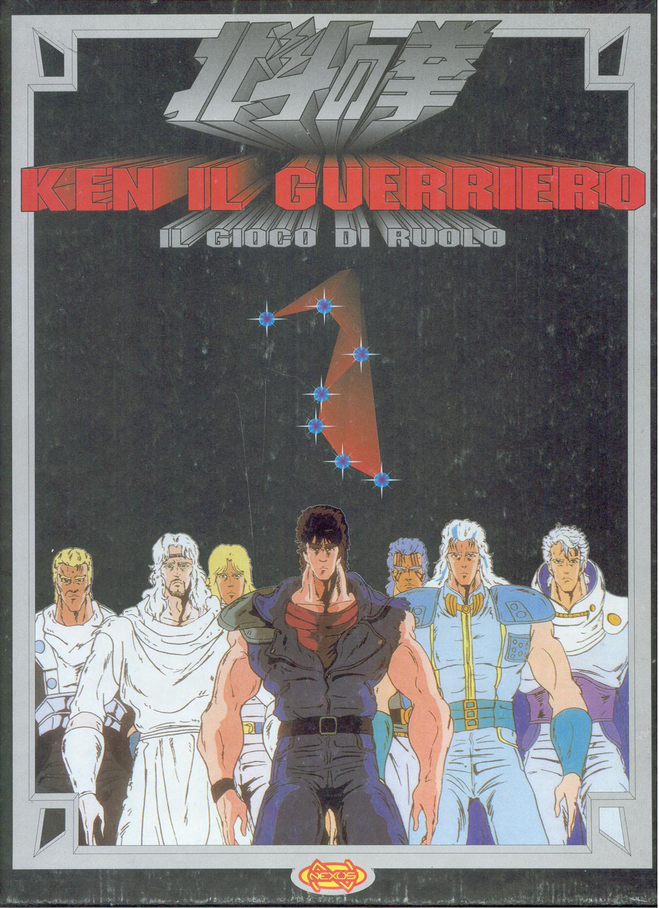 Ken il guerriero, il gioco di ruolo