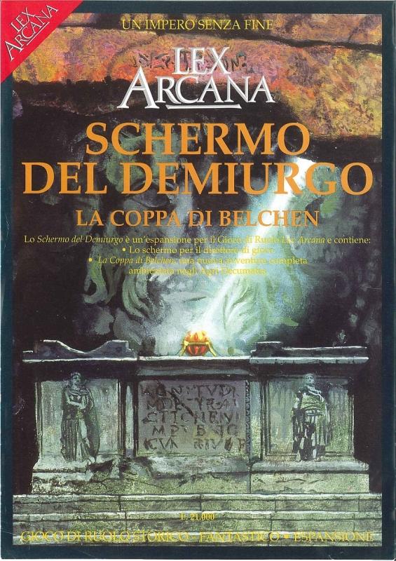 Lex Arcana, Schermo del demiurgo