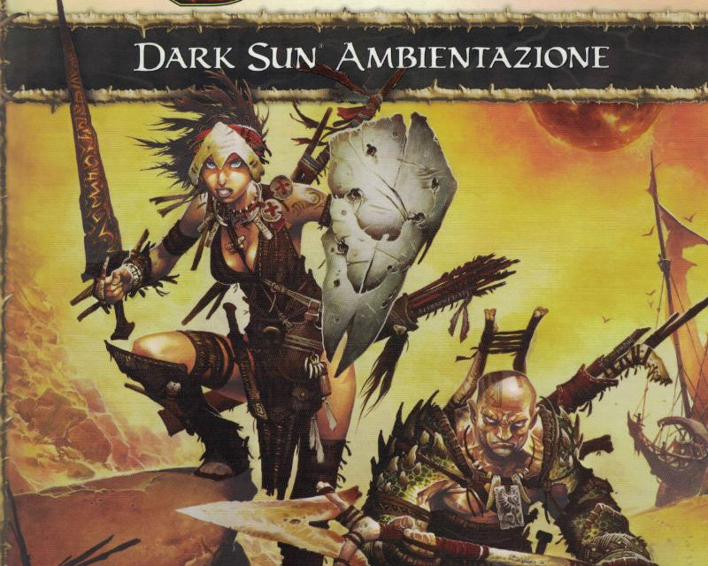 Dark Sun Ambientazione